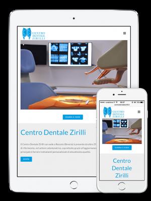 Grafica responsive per Centro Dentale Zirilli