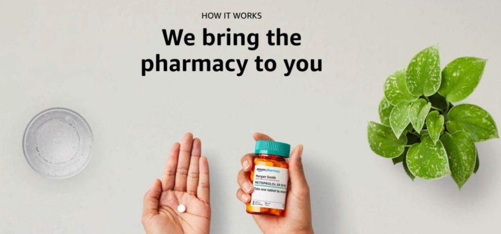 La nuova farmacia online di amazon
