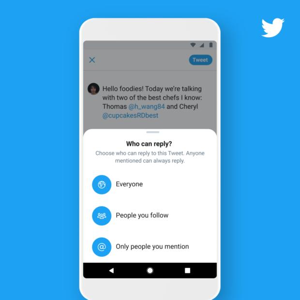 Aggiornamento impostazioni di Twitter