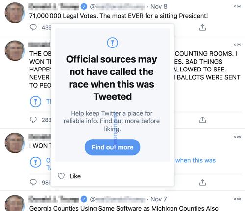 Fake news su twitter