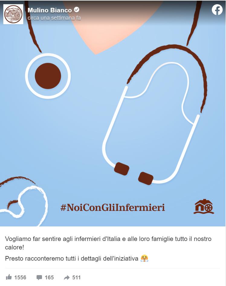 Iniziativa Barilla Limited edition infermieri