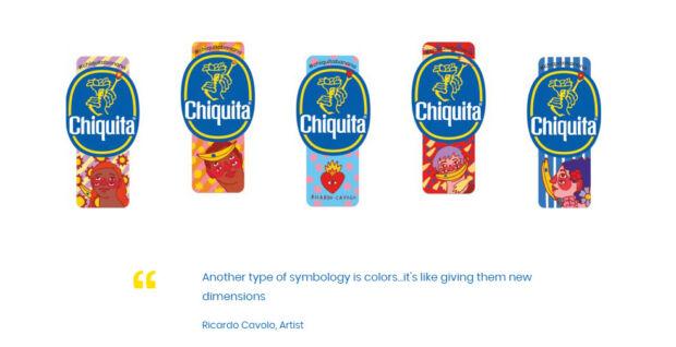 Limited edition di chiquita banana