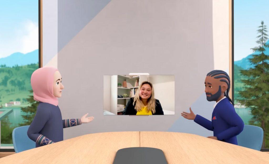 Horizon-Workrooms-di-Facebook-avatar-e-videochiamata